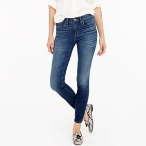 NWT ✅ J CREW High Waist Skinny Medium Wash Jeans